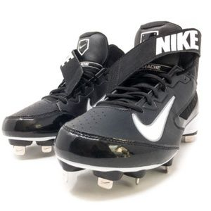 Nike Air Huarache Pro Mid Metal Baseball Cleats